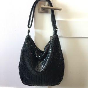 Pretty black sparkly bag.
